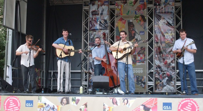 southwater bluegrass live on woodrow wilson plaza